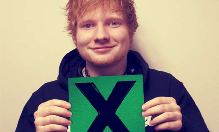ed sheeran s x fastest selling album of 2014