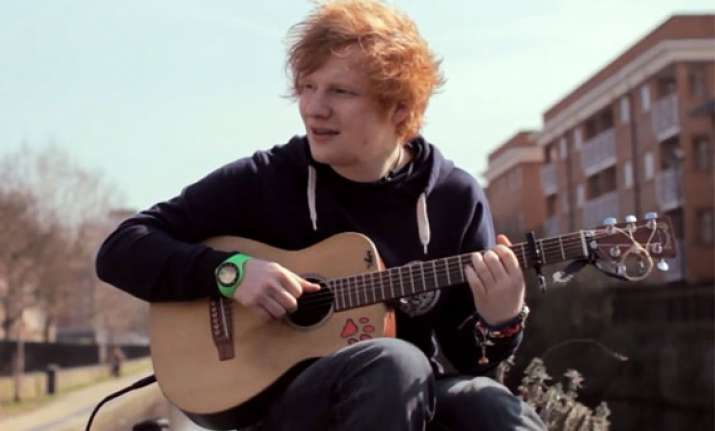 ed sheeran to sing in tv commercial