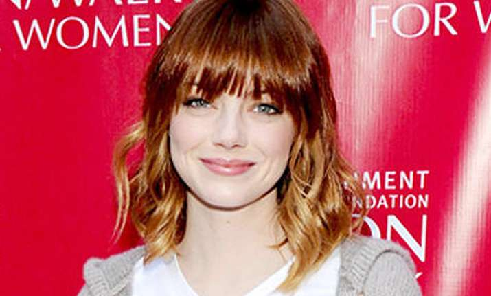 emma stone joins fight against cancer