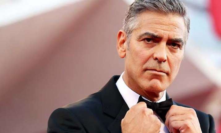 ageing gracefully george clooney refuse to dye his grey hair