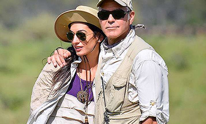 amal alamuddin played hard to get with clooney
