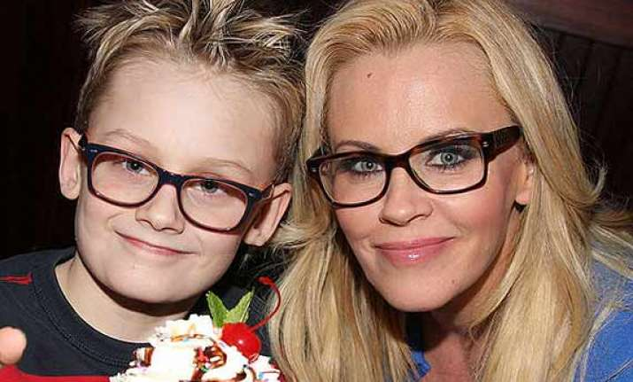 jenny mccarthy gives sex education to son