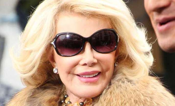 comedienne joan rivers in medically induced coma