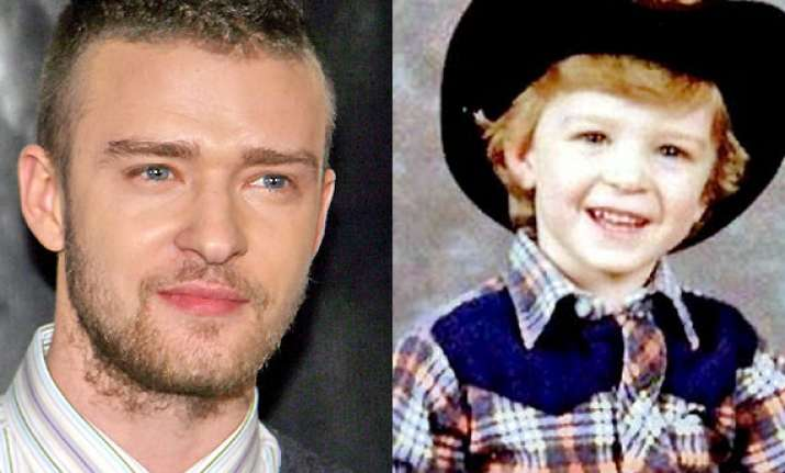 justin timberlake remebers childhood posts pictures online