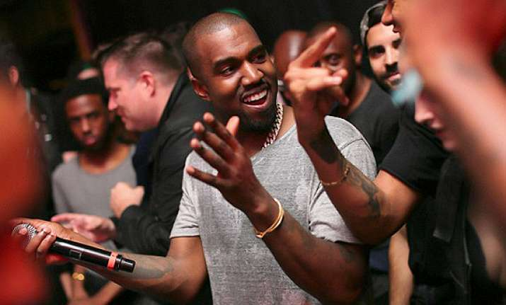 kanye west enjoys pre bachelor party with friends