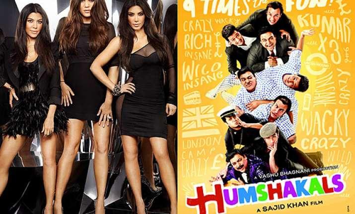 kardashian sisters to attend humshakals premiere in mumbai