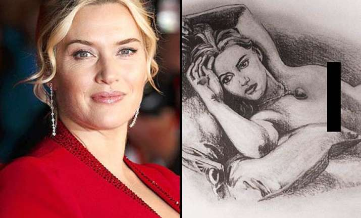 kate winslet not comfortable with her nude titanic portrait