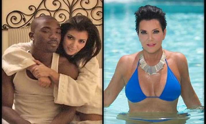 first kim kardashian now mum kris jenner s sex tape may get