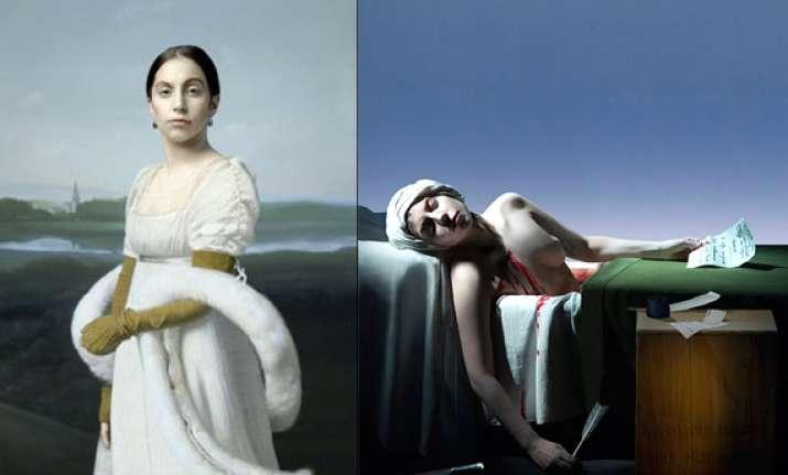 lady gaga portraits auctioned