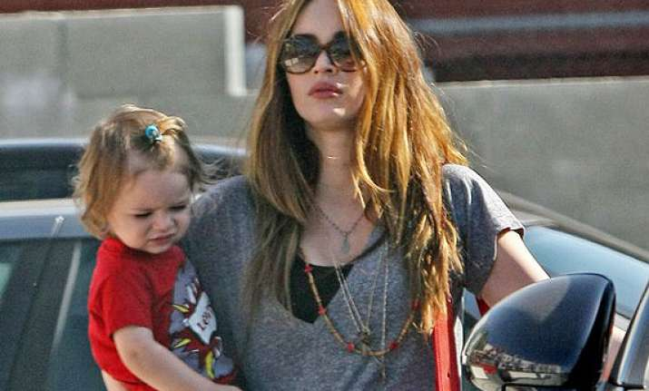 hard to be a working mom says megan fox