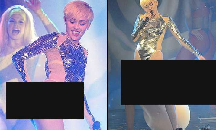 heights of vulgarity miley cyrus scorches her butt plays