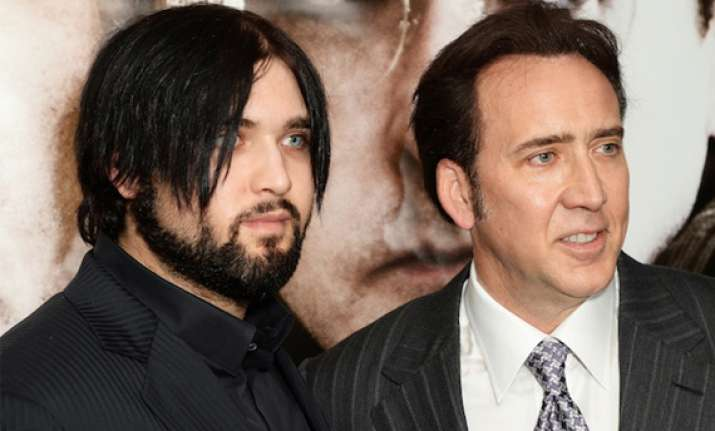 nicolas cage now a grandpa