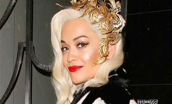 when rita ora forgot her lines while shooting for fifty