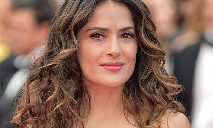 salma hayek success meaningless without family