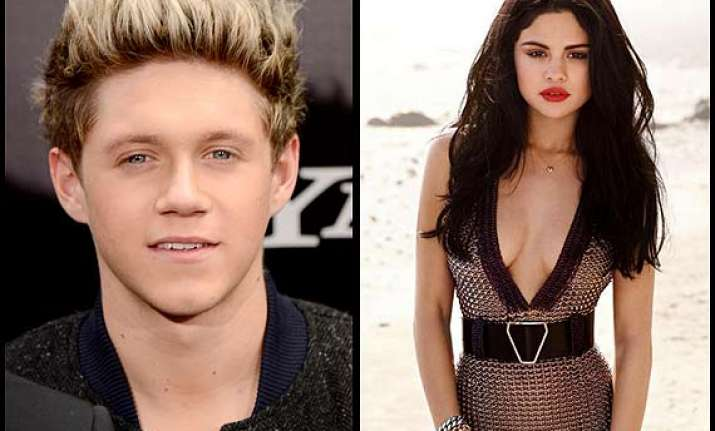 selena gomez enjoys night out with niall horan