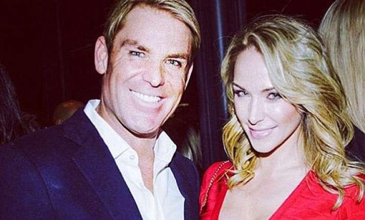 shane warne confirms dating emily scott