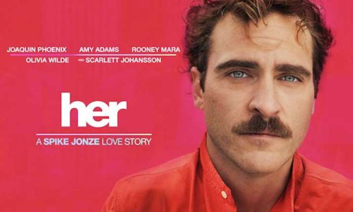 spike jonze s oscar nominated movie her to be release on