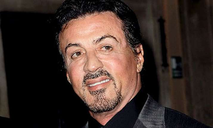 sylvester stallone working on his own biopic