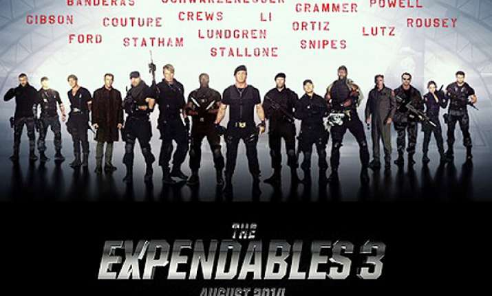 the expendables 3 to have world premiere at london