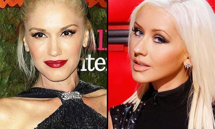 it s official stefani replaces aguilera on the voice