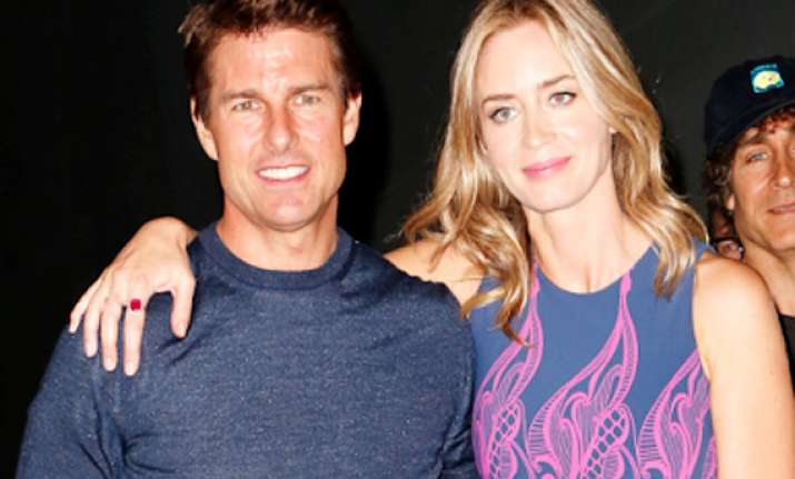 don t be wuss tom cruise once told emily blunt