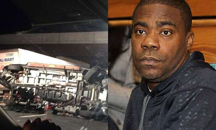 tracy morgan critical yet responsive after multi vehicle