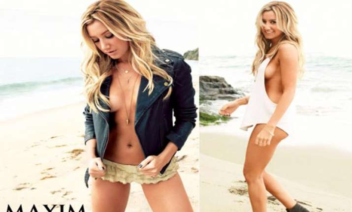 Ashley Tisdale Go Topless For Maxim May 2013 Masala News India Tv