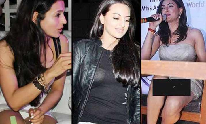 b town babes who suffered wardrobe malfunction like ameesha