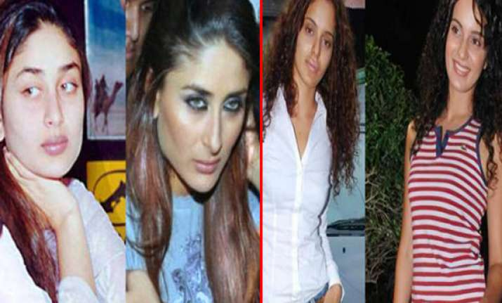 bollywood actresses who went through plastic surgeries
