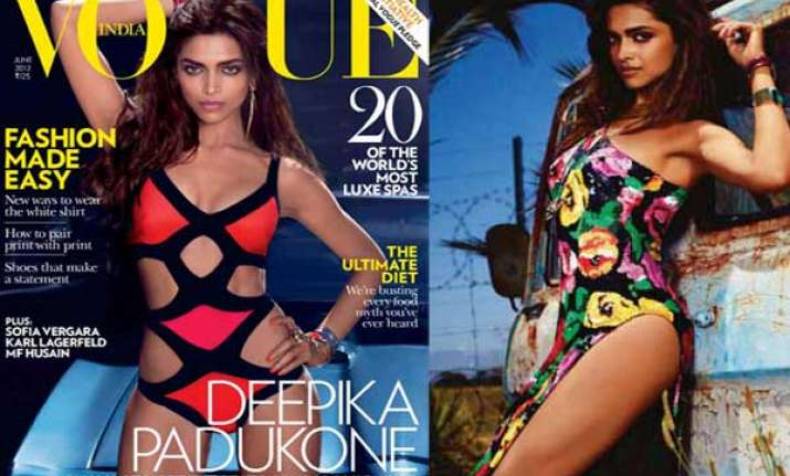 deepika does a hot photoshoot for vogue