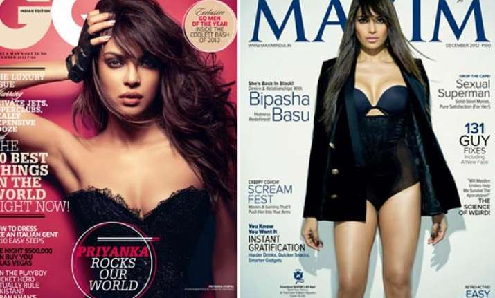 four bollywood hotties on magazine covers in december