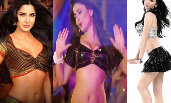 hottest bollywood item numbers of 2012