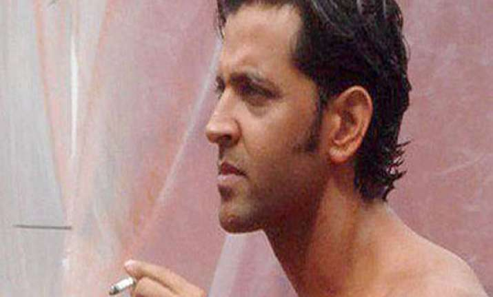 how hrithik gave up smoking