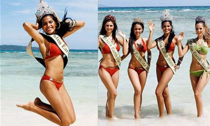 meet the cute contestants of miss earth 2009