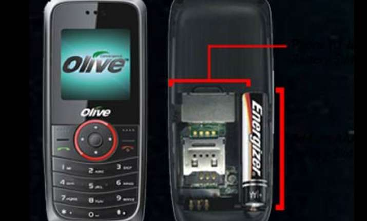 low cost indian cell phone launched with pencil battery