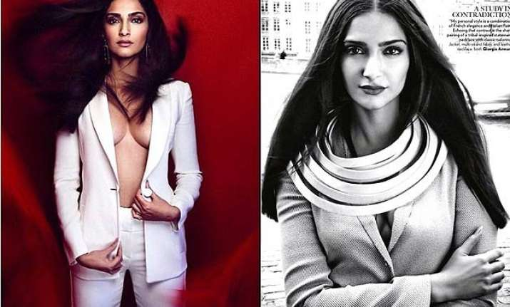 sonam kapoor scorches vogue in her various hot looks see