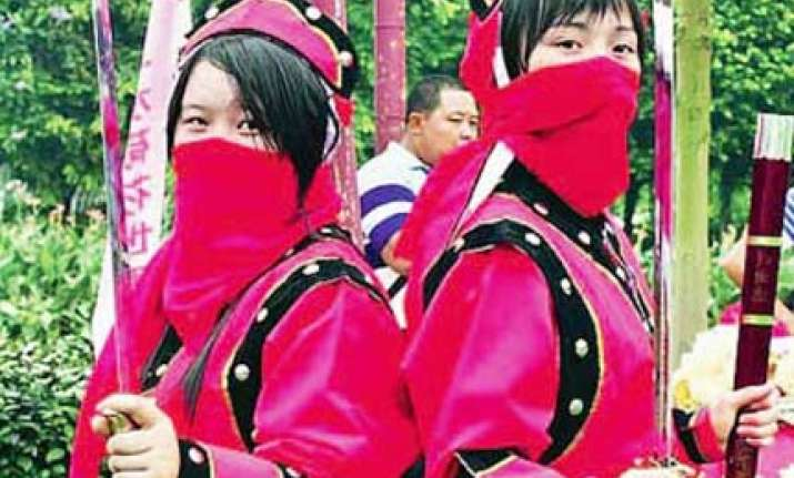 defeat us and then marry us say chinese kung fu sisters