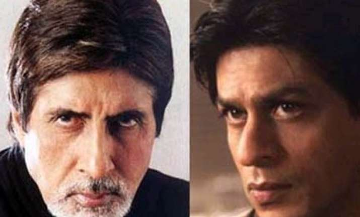 shah rukh fails to reply to b day wish from big b