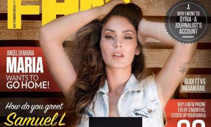 bruna abdullah dares to bare for fhm view pics