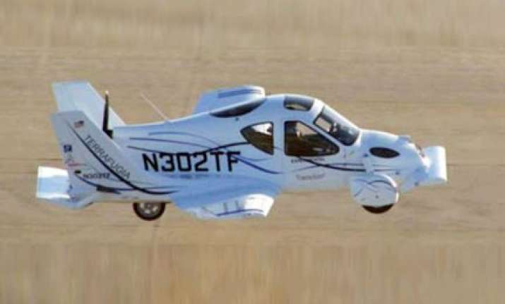 coming soon a terrafugia flying car