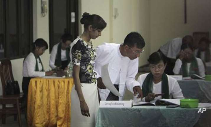myanmar counts votes in poll marred by fraud fears