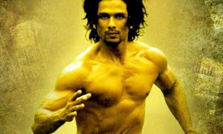 shahid takes a year to build eight packs