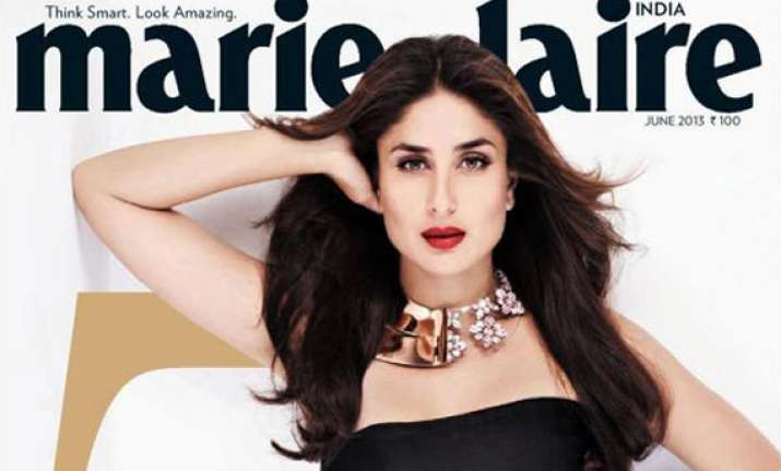 kareena glams up marie claire june 2013 cover view pics