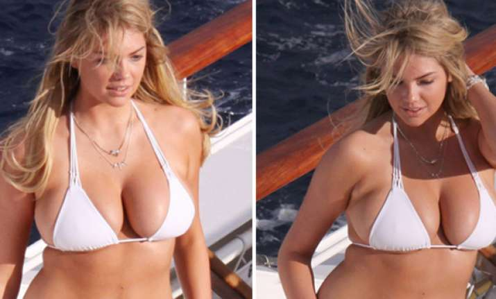 kate upton strips off in antarctic ocean