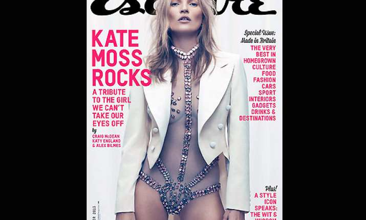 kate moss flaunts her flawless figure for men s magazine