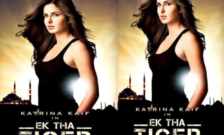 katrina s first look in ek tha tiger revealed