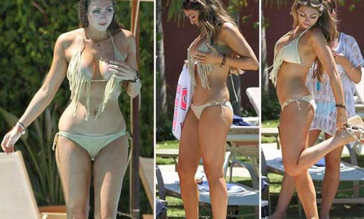 luisa zissman soaks up sun in spain view pics