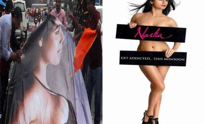poonam pandey s bold posters from nasha intolerable