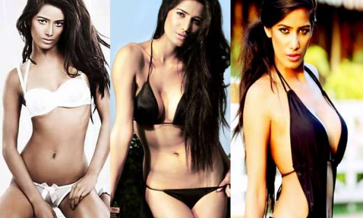poonam pandey may don bikini for film song