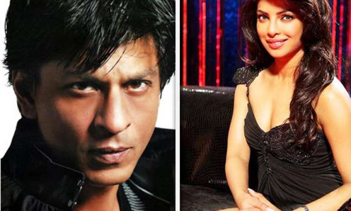 srk flared up with shirish after a long talk with priyanka